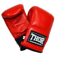 Снарядные перчатки THOR 606 XL Red (606 (PU) RED XL)