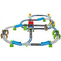 Большая моторизированная железная дорога Томас и друзья 6 в 1