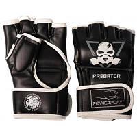 Перчатки для MMA PowerPlay 3056 А XL Black/White (PP_3056A_XL_Black)