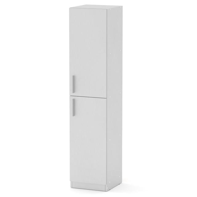 Шкаф книжный КШ-13 белый Компанит (35х37х159 см), фото 1