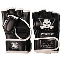 Перчатки для MMA PowerPlay 3056 А S Black/White (PP_3056A_S_Black)