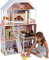 Кукольный домик для барби.Кукольный домик.Домик для кукол с мебелью.Игровой кукольный домик.