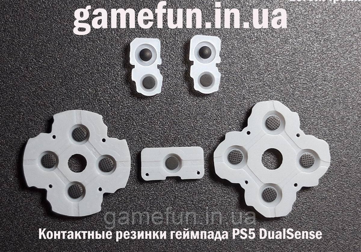 Контактные резинки джойстика PS5 DualSense (BDM-010)