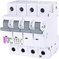Автоматичний вимикач ETI ETI ETIMAT 6 3p+N C 25А (6 kA)