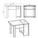 Розкладний стіл - книжка - 1, фото 3