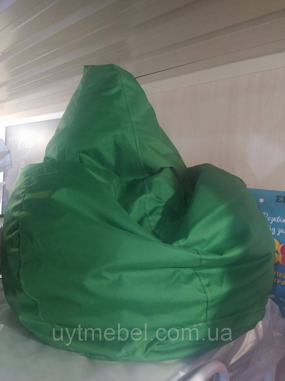 Крісло-мішок Груша зелений (ПП Гайворонський)
