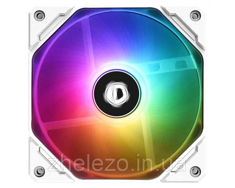 Вентилятор ID-Cooling TF-12025-ARGB-SNOW, 120x120x25мм, 4-pin PWM, белый