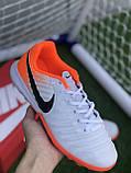 Стоноги Nike Tiempo Ligera IV TF многошиповки найк темпо тиемпо, фото 3