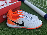 Стоноги Nike Tiempo Ligera IV TF многошиповки найк темпо тиемпо, фото 4