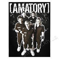 AMATORY (группа) - нашивка катаная большая