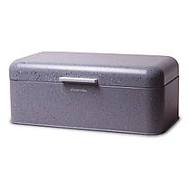 Хлебница Kamille 42x23.5x16.5см KM-1108 темно-серый мрамор