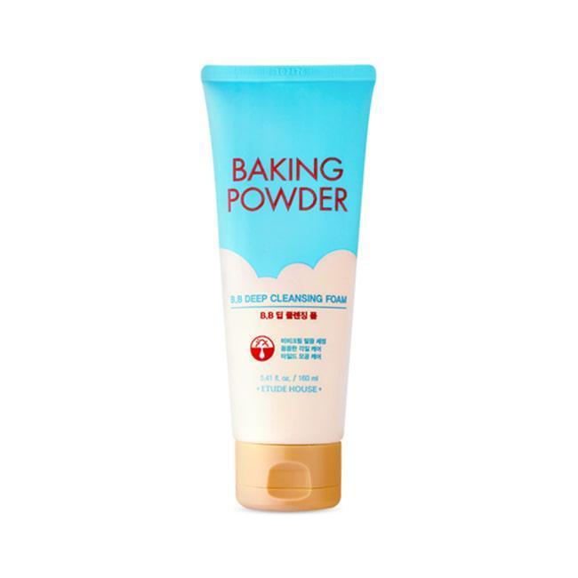 Пенка для жирной и комбинированной кожи Etude House Baking Powder Pore & BB Deep Cleansing Foam
