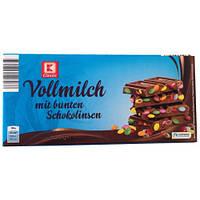 Молочный шоколад c M&M's K Classic Vollmilch mit bunten Schokolinsen