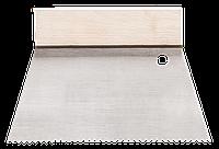 Шпатель зубчатый для нанесения клея 18 см HARDY B2 0825-661801