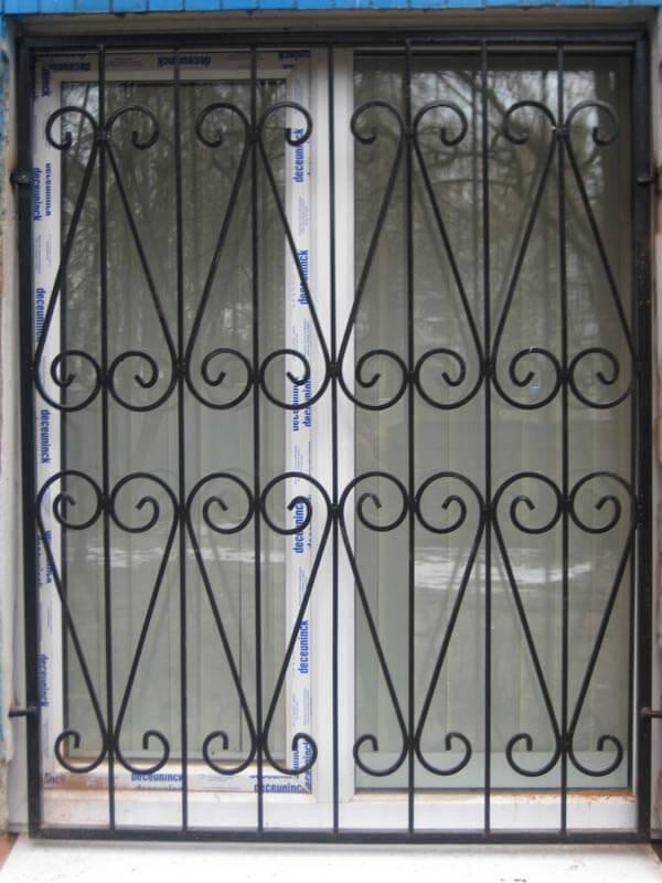 Виды металлических решеток