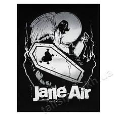 JANE AIR - нашивка катаная большая