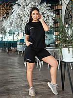 Жіночий літній спортивний костюм шорти і футболка, фото 1