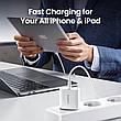 Універсальний зарядний пристрій UGREEN CD137 USB-C 20 вт Power Delivery 3.0 Qualcomm Quick Charge 4.0 White, фото 6