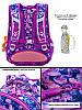 Рюкзак шкільний в 1-4 клас для дівчинки ортопедичний з 3D малюнком Ведмедик SkyName R1-011, фото 4