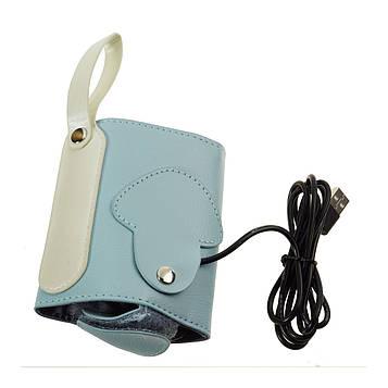 Підігрівач для пляшечок USB (Синій) підігрівач для пляшечок (розігрівач) (SV)