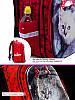 Рюкзак шкільний для дівчинки 1-4 клас ортопедичний на 20 л. Червоний SkyName R1-014, фото 4