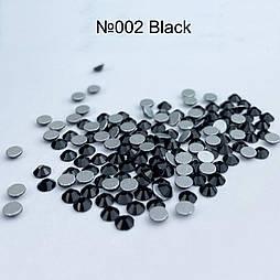 Стрази скляні Black SS3 1440 штук
