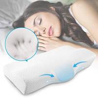 Ортопедическая подушка с памятью бабочка