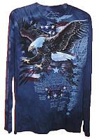 3D футболка с длинным рукавом The Mountain 453021 American Independe