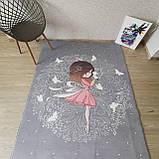 """Плюшевый утепленный детский коврик """" Фея"""" 150 на 200 см, фото 3"""