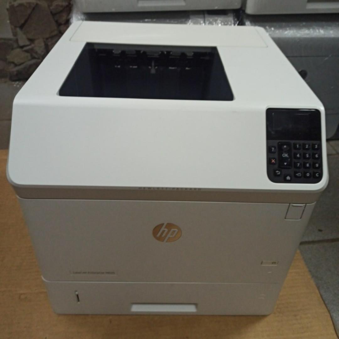 Принтер HP LaserJet Enterprise M605dn пробіг 106 тис з Європи