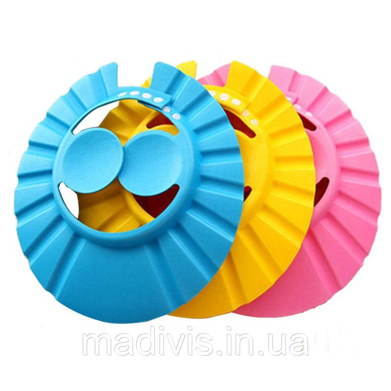 Регульована Шапочка для захисту дитячого шампуню для купання, затишна шапочка для вух