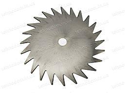 Ніж для мотокоси сталевий 24Т (для жорсткого бур'яну)
