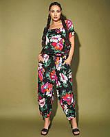Комбинезон женский стильный свободного фасона размер: 50-52, 54-56 ОПТ/ДШ