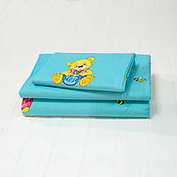 Детское постельное белье Вилюта для новорожденных ранфорс 6112 голубой