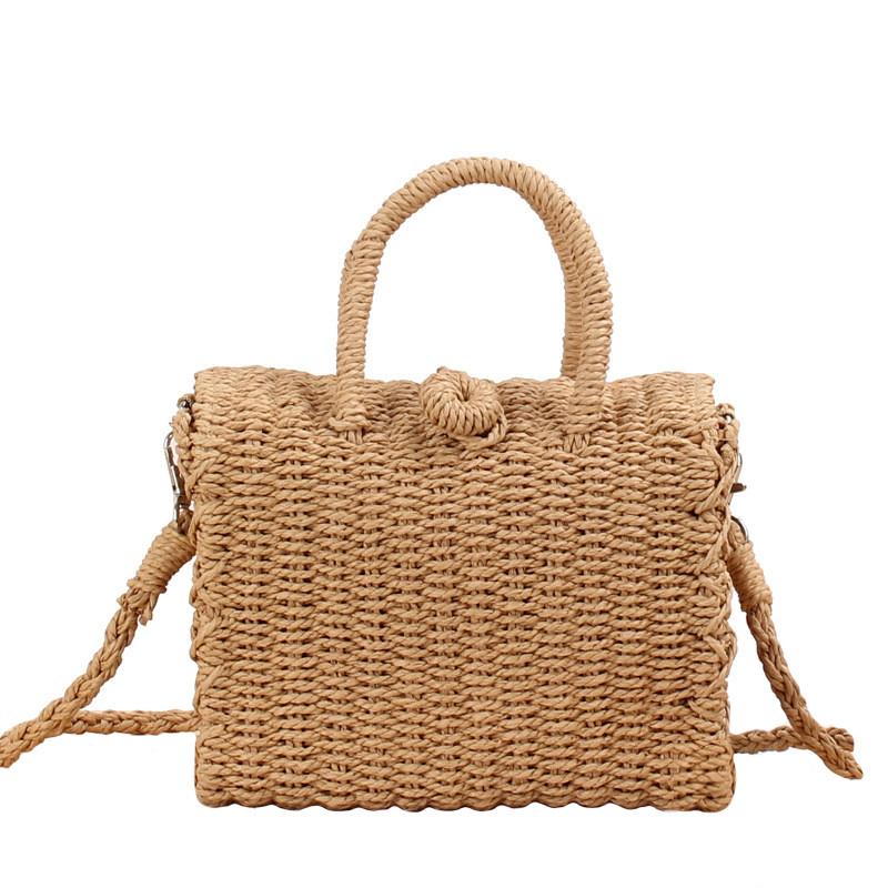 Сумка женская плетеная 0990