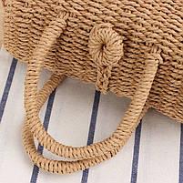Сумка женская плетеная 0990, фото 2