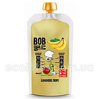 "Банановое пюре без сахара ""Bob Snail"" 400 г"