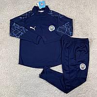 Тренировочный костюм Манчестер Сити 20/21 темно-синий