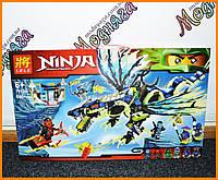 """Конструктор LELE серии """"Ninja/ниндзяго"""" - """"Атака Морро - Дракон"""" 690 деталь арт.79120"""