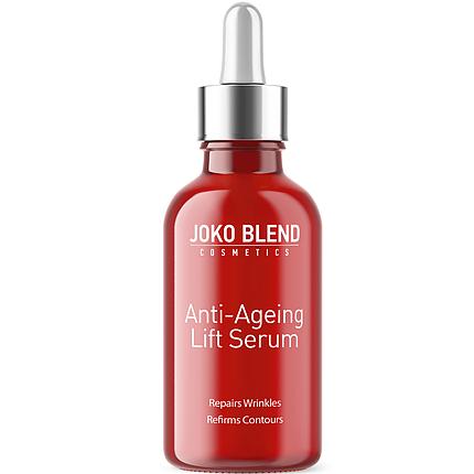 Сироватка, концентрат проти зморшок з ліфтинг-ефектом Anti-Ageing Lift Serum Joko Blend, 30 мл, фото 2