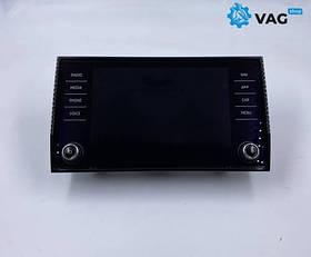 Панель управления магнитофон дисплей skoda kodiaq