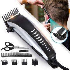 Профессиональная аккумуляторная Машинка для стрижки волос TARGET JH-4600 мужская с насадками 100% КАЧЕСТВО!