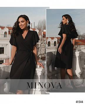 Платье №891-черный черный/46-48
