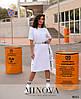 Платье №868-белый белый/50-52, фото 3