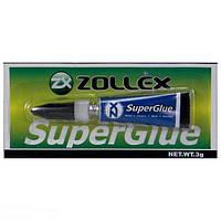 Супер клей Zollex 3гр
