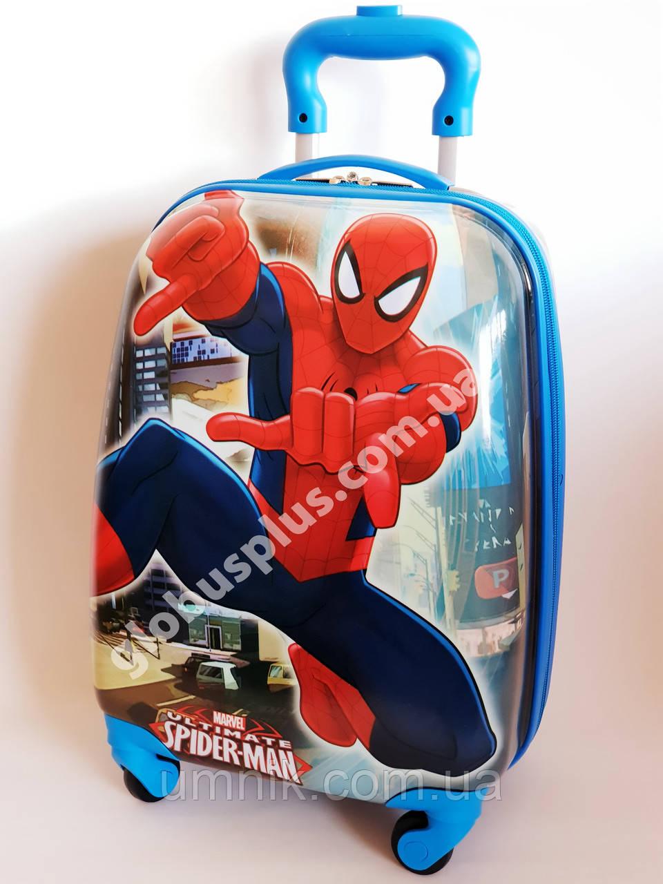 """Дитячий чемодан дорожній """"Josef Otten"""" Spider Man на чотирьох колесах 520201"""