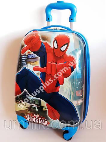 """Дитячий чемодан дорожній """"Josef Otten"""" Spider Man на чотирьох колесах 520201, фото 2"""