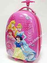 Детский чемодан дорожный на колесах «Принцессы» Princess-8, 520390