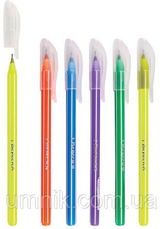"""Ручка кулькова, масляна """"Smartline"""" синя """"1 Вересня"""" 411034, фото 2"""