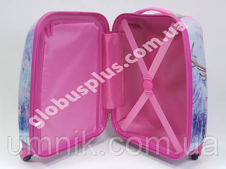 """Детский чемодан дорожный """"Холодное Сердце"""", Frozen на четырех колесах 520291, фото 2"""